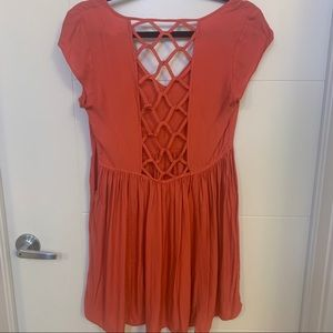 Never worn coral dress from Urban Outfitters ❤️